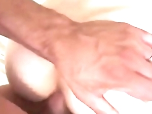 Doggystyle anal with swedish girlfriend outdoor