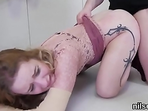 Nasty girl is taken in anal assylum for harsh therapy