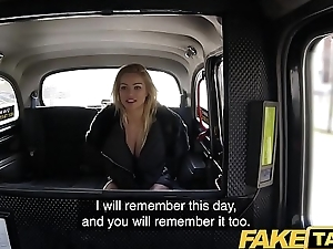Fake Taxi Just a coat no unmentionables fuck