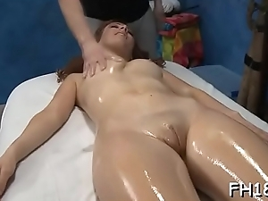 See these girls succeed in screwed at the end of one's tether their massage therapist