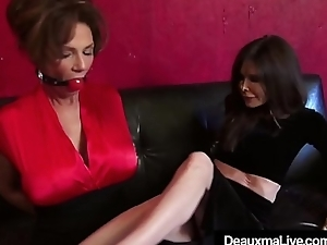 Mature Cougars Deauxma &amp_ Ashley Renee Bound &amp_ Ball Gagged!