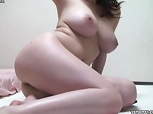 Naked Japanese Untalented Big Tits in the Apartment