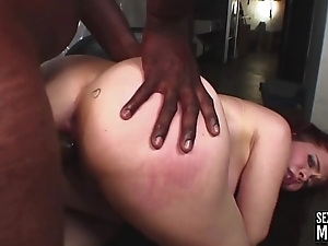 Horny milf proves that she does not only shake her sexy ass dancing but also while taking in a smarting black cock in to her tight pussy