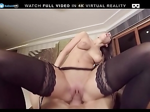 BaDoink VR Giving You Felicia Kiss As A Christmas Authentic VR Porn