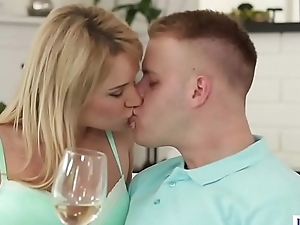 Angel Piaff with the addition of her bisexual cuckold man