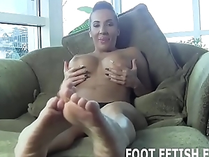 I will portray off my perfect feet for you