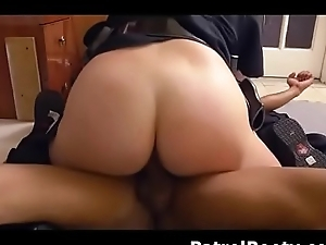 Big Titty Female Cops Ride Black Suspects Dick And Face