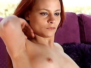 That Redhead Cougar is just a Slave to This Muscled Master who will Smash her Pussy