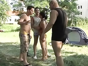 Cocks in the ass on the camping (Full Movies)