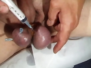 needle in the balls