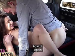 Sissified Fake Taxi Sly fare Sly fuck for Therese Bizarre