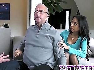Real mediocre gets oral from stepbro and rides cock in hd