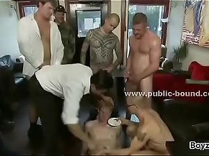 Nordic gay boy shaved and whipped by fix it of nasty masters in dirty fix it coition : Denmark Sweden Norway