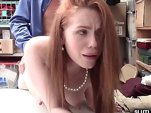 Foreign shoplyfters stingy pussy romp so fucking hard!