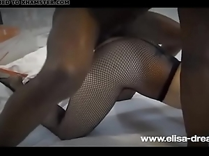 Fucking a BBC in front for my husband