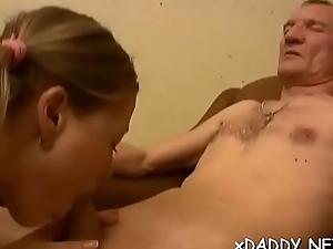Slutty sweetheart got cash not far from fuck an old guy for everyone girlfriend long