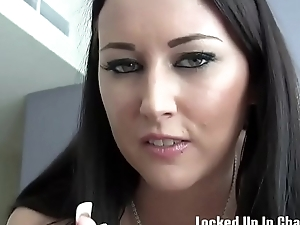 You are about to be locked up by a real mistress