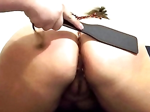 Spanking Punishment for Being Disrespectful - BDSM, Rope