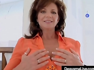 Cock Energized Cougar Deauxma Gets A Dick In All Her Holes!